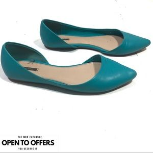 Forever 21 D'orsay Flats Size 9